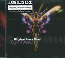 BILLYLEE JANEY BAND - SOUL DRIVER IOWA BLUES ROCK TRUTH & JANEY GTRIST SEALED CD