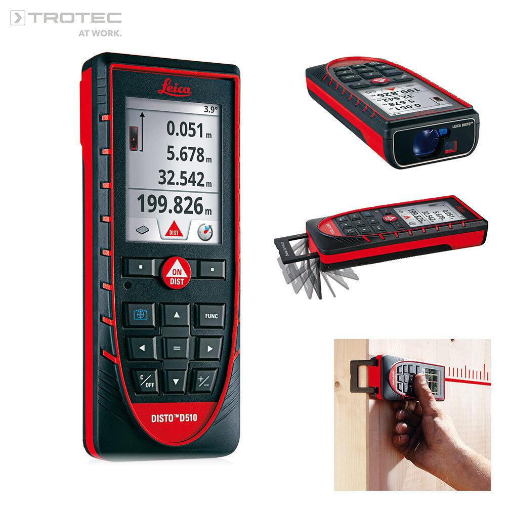 TROTEC Leica Disto D510   Laser Entfernungsmesser   Distanzlaser Lasermessgerät