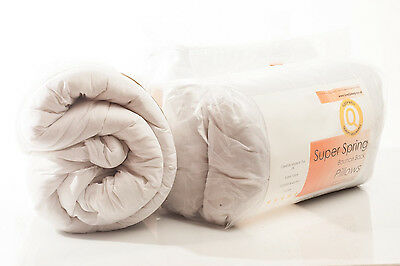 Love2Sleep 5* HOTEL QUALITY NON ALLERGENIC DUVET SOFT POLYCOTTON COVER 13.5 TOG