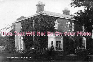 WA-260-Withybrook-Vicarage-Warwickshire-c1907-6x4-Photo