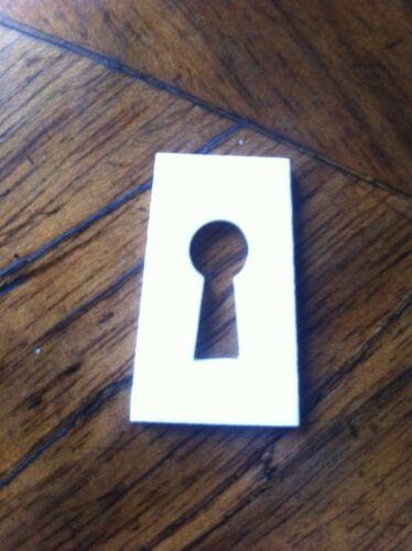Schlüsselumrandung Biedermeier Schlüsselschild zum Einlegen