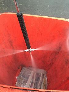 Karcher K Type High Pressure Bin Cleaner Attachment Bin Cleaning Wheelie Bin