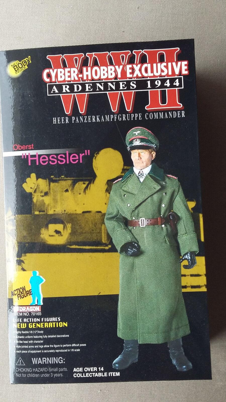 Dragon Ardennes 1944 Oberst Hessler Heer Panzerkampfgruppe Kommander