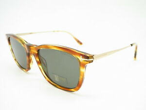 905ed54979bca New Authentic Tom Ford TF 625 Arnaud-02 47A Light Brown w Green ...