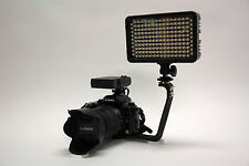 Pro 2 LED video light for Sony a6300 a6000 a5000 mirrorless alpha DSLR on camera