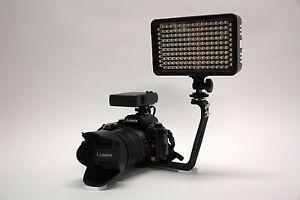 Pro 2 LED DV camcorder video light for Panasonic PV GS32 GS35 GS39 GS400 GS500