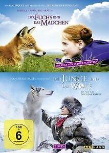 Der-Fuchs-und-das-Maedchen-amp-Der-Junge-und-der-Wolf-DVD-Zustand-akzeptabel