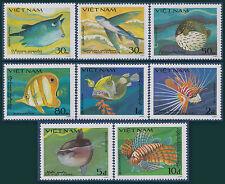 VIETNAM N°505A/505H** Poissons étranges, 1984 Vietnam 1397-1404 Fish  MNH