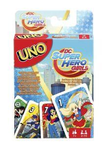 Uno DC Super Hero Girls MATTEL NEUF