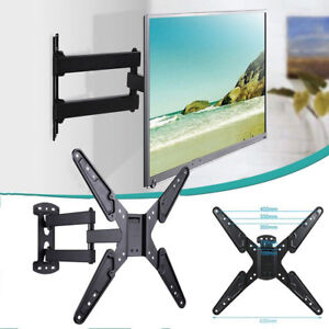 Image Is Loading Single Swing Arm Full Motion Tv Wall Mount