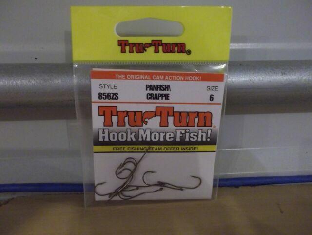 Tru-Turn Panfish Crappie Size 4 Hooks