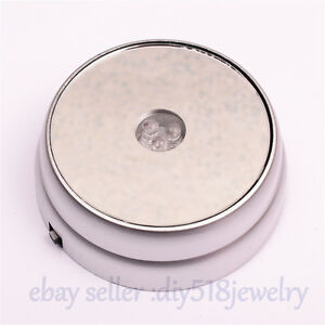 3D-Round-Crystal-Glass-Paperweight-Stand-Base-with-3-LED-Colourful-Light-Silvery