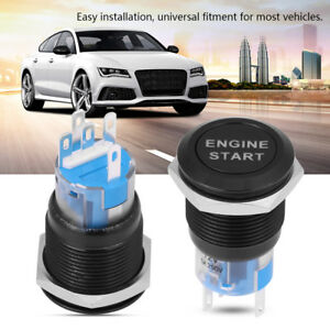 12V-Car-Engine-Start-Push-Button-Switch-Control-Ignition-Starter-Stainless-Steel