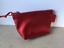 Porte-monnaie-034-DISCO-034-en-cuir-rouge-paillete miniature 1