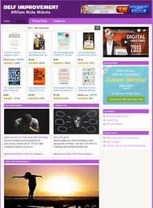 SELF-IMPROVEMENT-Affiliate-Information-Website-For-Sale-Free-Installation