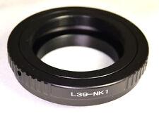 Leica Leitz M39 LTM screw mount lens adapter to Nikon 1 cameras J1 J2 AW1 V1 V3