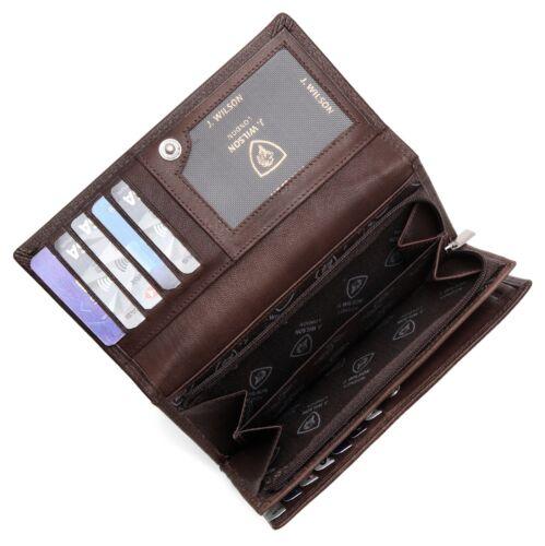 LADIES DESIGNER PURSE LEATHER WALLET GENUINE CREDIT CARD HOLDER PURSE GIFT BOXED