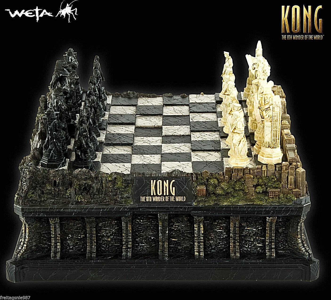 King Kong Chess-Game Schachspiel Resin Ltd Ed 1500