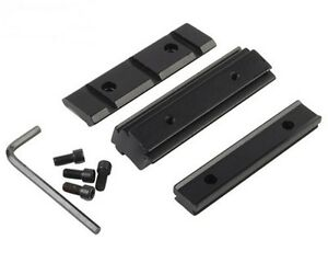 Dovetail 11mm To 20mm Weaver Picatinny Rail For Rifle Scope Mount Base Adapter 746060742435 Ebay