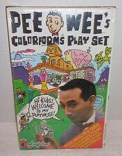 Vintage COLORFORMS 1987 PEE WEE HERMAN/Pee Wee's Play Set/Playset NEW/SEALED