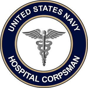 Navy-Hospital-Corpsman-HM-3-8-034-Die-Cut-Sticker-039-Officially-Licensed-039