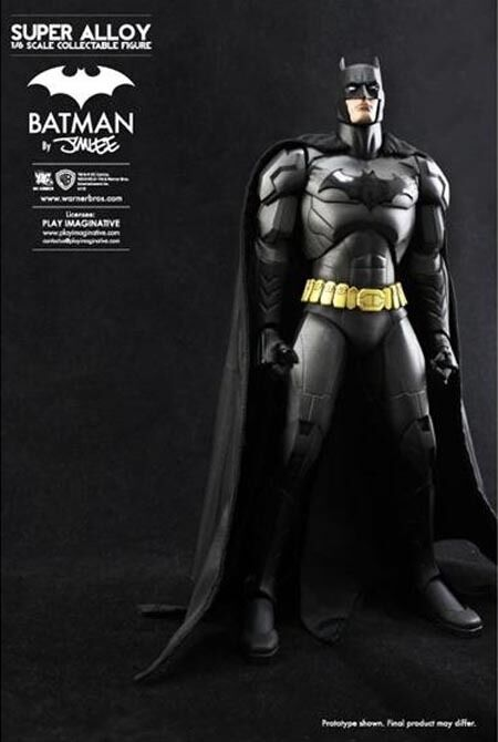 BATMAN JIM LEE 12  SUPER ALLOY 1/6 SCALE FIGURE DC COMICS PLAY IMAGINATIVE NUOVO