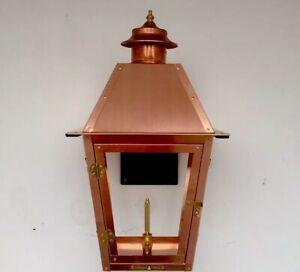 Copper Gas Lantern Legendary Lighting