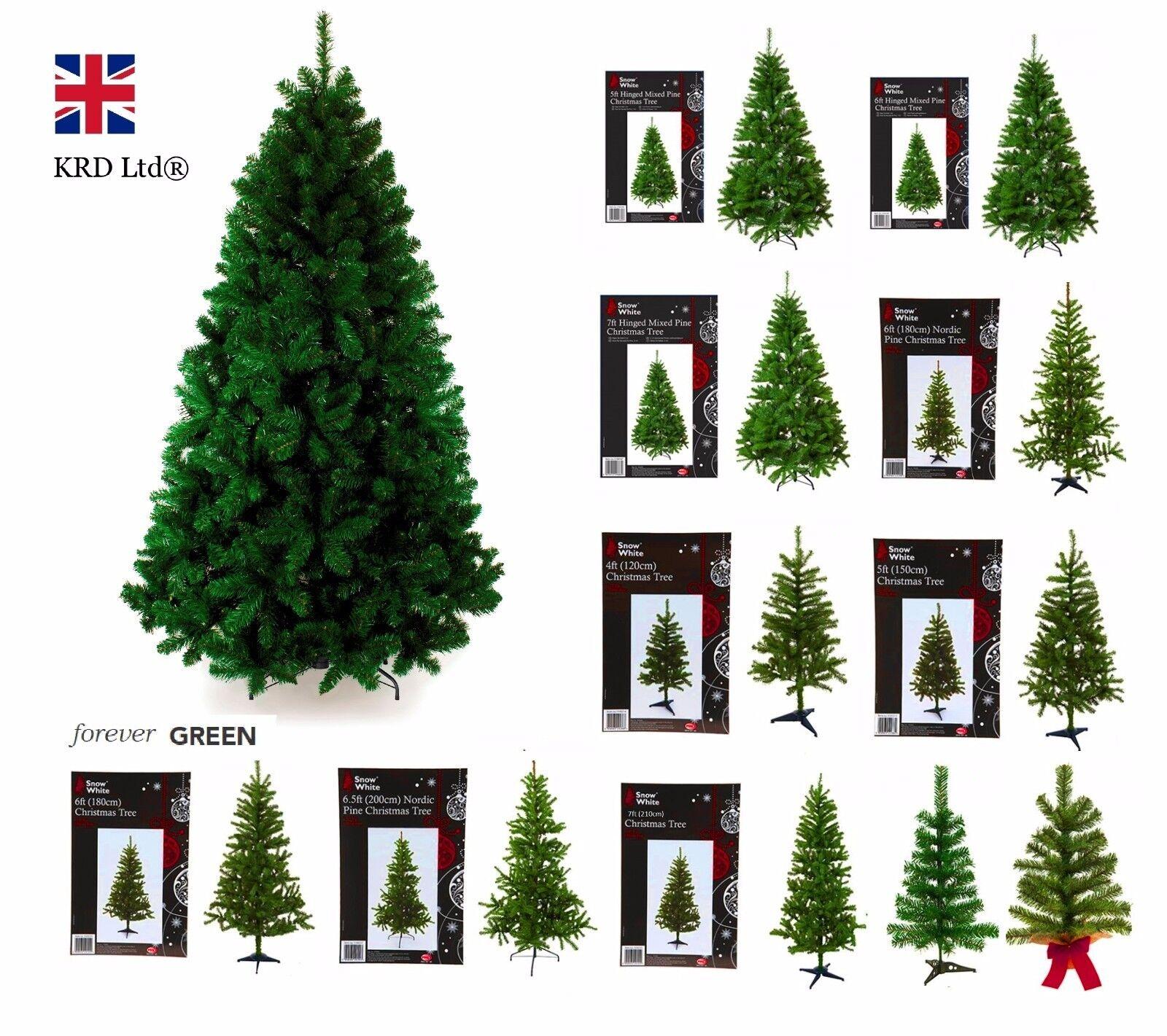 Artificiel sapin de no l premium pin design traditionnel vert for t cadeau no l ebay - Sapin de noel traditionnel ...