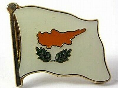 0 5/8in Cyprus Flags Pin Badge Cyprus New With Pressure Lock Yet Not Vulgar