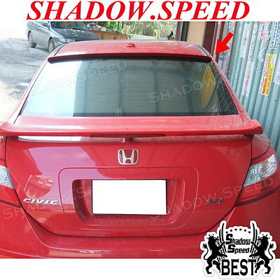 Painted B Type Rear Window Roof Spoiler For HONDA CIVIC Coupe 2009 10 11 ✪