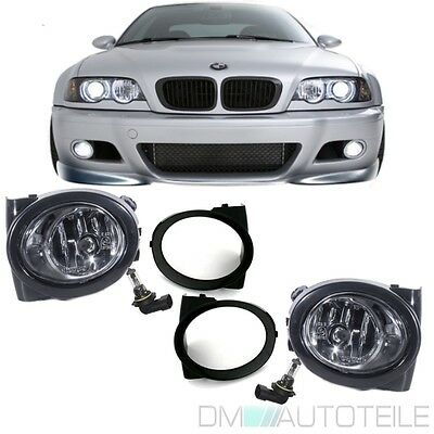 BMW E46 E39 Nebelscheinwerfer für M Paket M3 M5 Technik Chrom Rechts Links + HB4