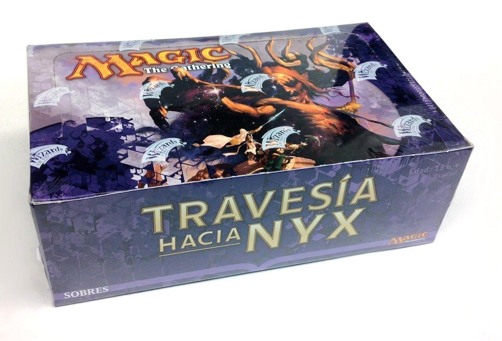 Spanische reise in nyx booster - box - fabrik versiegelt - magic  the gathering