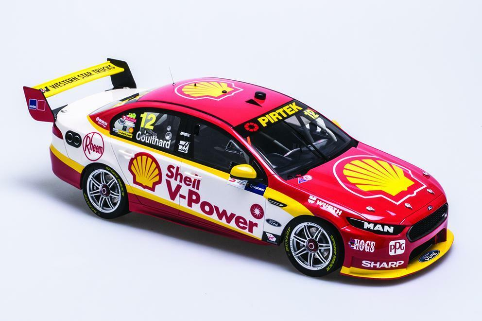 1 12 Biante - 2017-ford Falcon-Supersprint Fabian Coulthard fgx