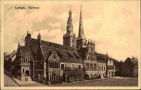 Lemgo Nordrhein Westfalen alte Ansichtskarte 1930 Partie am Rathaus Marktplatz