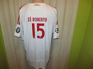 FC-Bayern-Muenchen-Adidas-CL-Trikot-2008-09-034-T-Home-034-Nr-15-ZE-ROBERTO-Gr-XL