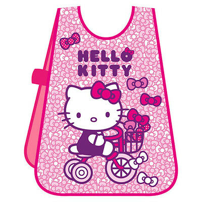 NEW KITTY Kids Pinafore Arts CRAFT Cooking PAINTNING Apron Messy Play Waterproof