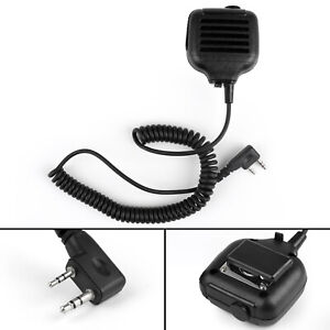 1x-KMC-17-Handheld-Speaker-Microphone-For-BaoFeng-Kenwood-TK240-260-Puxing-BS3