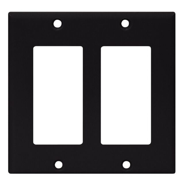 NEW Screwless Wall plate Toggle Switch Cover White Wallplates 50 pc