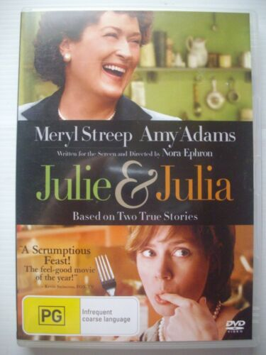 1 of 1 - JULIE & JULIA DVD - VGC - Meryl Streep, Amy Adams