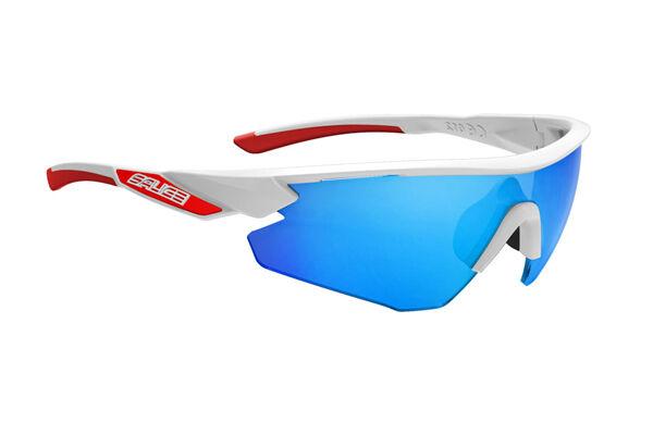 Gafas Salice Mod.012RW Blanco Lente Rainbow Blue/Glasses Salice 012RW White