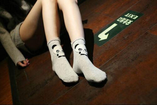 Cute Lovely 3D Cartoon Animal Womens Socks Ladies Girls Cotton Warm Soft Sox NEW