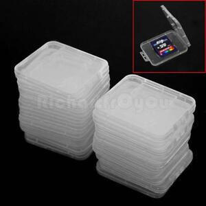 20-Pcs-SD-SDHC-Memory-Card-Case-Holder-Storage-Hard-Plastic-Transparent-Holder