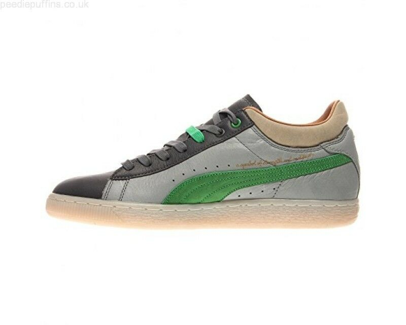 Puma Stepper X Burn Rubber Green Grey Men Sz 8.5 - 11.5 Retail