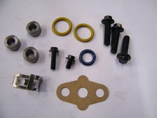 Ford 6.0 6.0L Powerstroke Turbo Turbocharger Install Kit