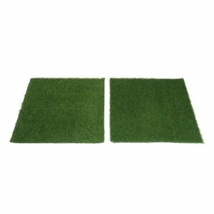 2 Pcs 8 Sq Ft Green Eco Friendly Artificial Grass Carpet Mats Wedding Party Sale Ebay