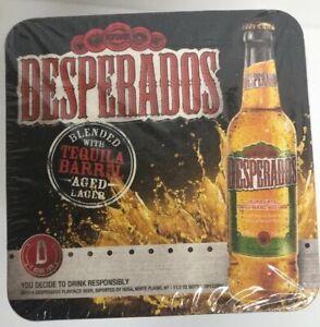 Desperados Beer Tequila Brew Bar Man Cave Party Coasters Sealed Pack Of 100 Ebay