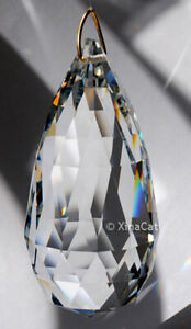 Huge-90mm-The-Club-Crystal-Clear-Prism-SunCatcher-3-1-2-inches-HEAVY