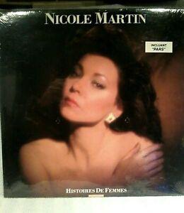 NICOLE-MARTIN-histoires-de-femmes-lp-33-rpm-SEALED