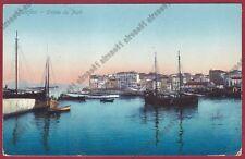 GRECIA GREECE Ελλάδα EGEO Aegean CORFÙ 18 KERKYRA Κέρκυρα Cartolina viagg. 1912