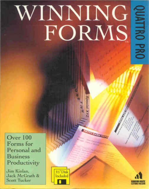 Vintage Winning Forms for Quattro Pro : Over 100 Forms for Personal & Business